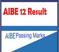 aibe 12 result