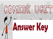 comedk uget answer key