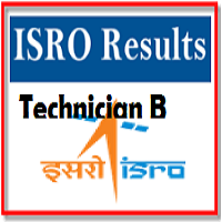 isro technician b result