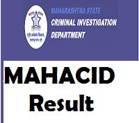 maharashtra cid result