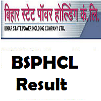 BSPHCL Result