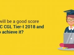 What will be a good score for SSC CGL Tier-I exam