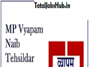 MP Naib Tehsildar Admit Card