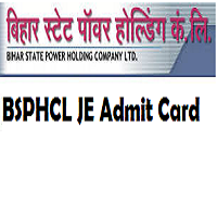 bsphcl je admit card