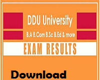 ddu gorakhpur university result