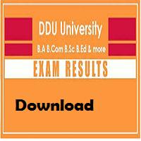 ddu gorakhpur university result