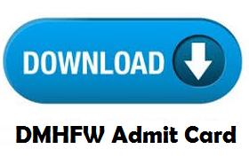 dmhfw admit card