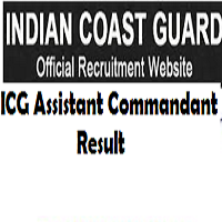indian coast guard assistant commandant result
