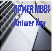 jipmer mbbs answer key