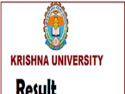 krishna university deggree results