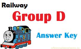 railway group d answer key