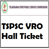 telangana VRO Hall Ticket