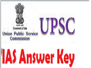 upsc ias answer key