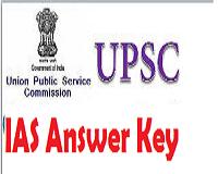 upsc ias answer key
