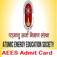 AEES Primary Teacher Admit Card