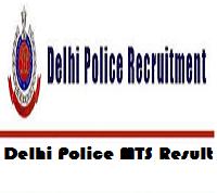 Delhi Police MTS Result