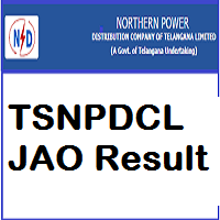 TSNPDCL JAO Result