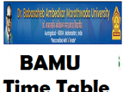 bamu time table