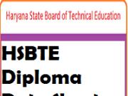 hsbte diploma date sheet