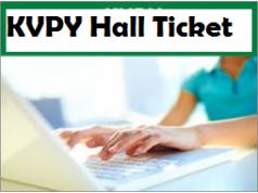 kvpy hall ticket