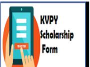 kvpy scholarship online form