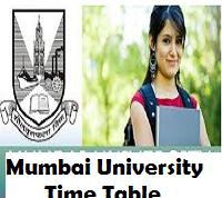 mumbai university time table
