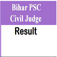 Bihar PSC Civil Judge Result