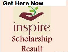 Inspire Scholarship Results 2020 Selection List, Cut off, Merit