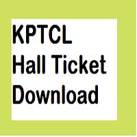 kptcl hall ticket