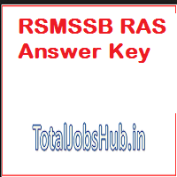 rsmssb ras answer key