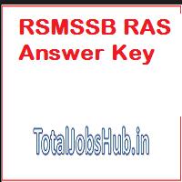 rpsc ras answer key