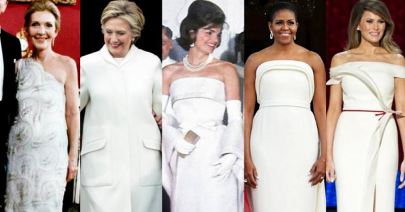 Try to Guess Which First Lady Wore This $46,000 Dress