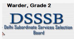 DSSSB Warder Result