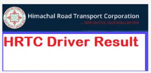 HRTC Driver Result
