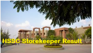 HSSC Storekeeper Result 2019 Haryana SSC Cut Off Marks, Merit List