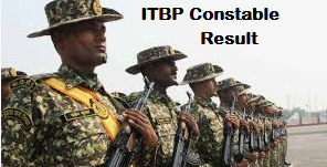 ITBP Constable Tradesman Result