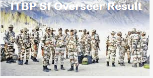 ITBP SI Overseer Result