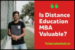 Is Distance Education MBA still valuable and worth doing