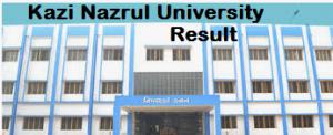 Kazi Nazrul University Result