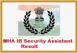 MHA IB Security Assistant Result
