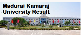 Madurai Kamaraj University result