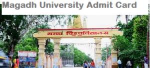 Magadh University Admit Card