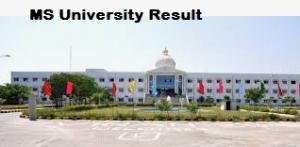 Manonmaniam Sundaranar University result