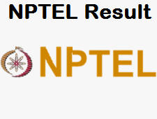 NPTEL Online Courses Result