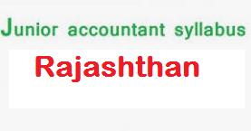 RSMSSB Jr Accountant Syllabus