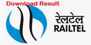 RailTel Result
