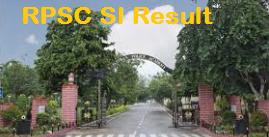 Rajasthan Police SI Result