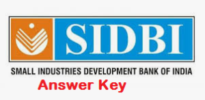 SIDBI Assistant Manager Answer Key