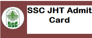 SSC Junior Hindi Translator Admit Card