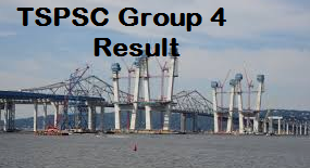 TSPSC Group 4 Result